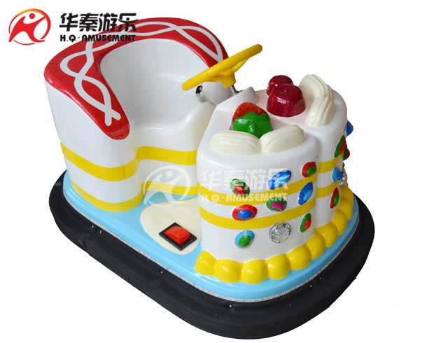 The cake bumper car (white)