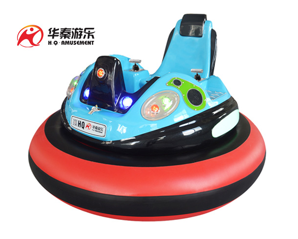 Spaceship I generation bumper car (light blue)